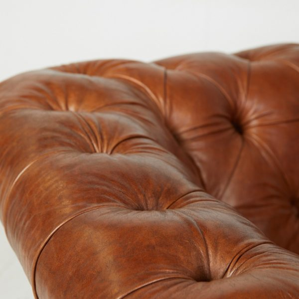 Leather Chesterfield 9
