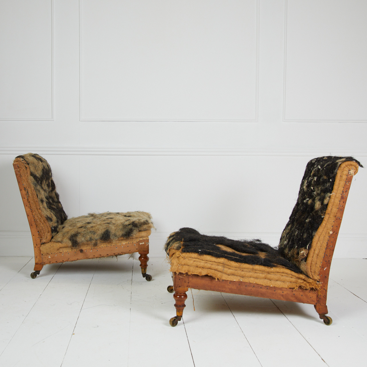 Howard and Sons chairs awaiting upholstery