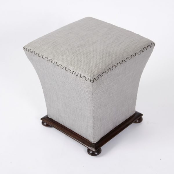 Regency upholstered stools from above